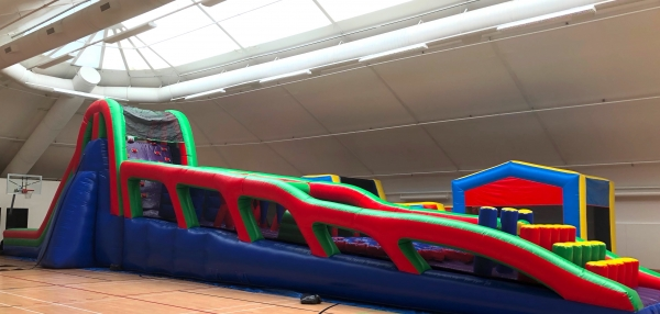 Giant Inflatable Obstacle Courses