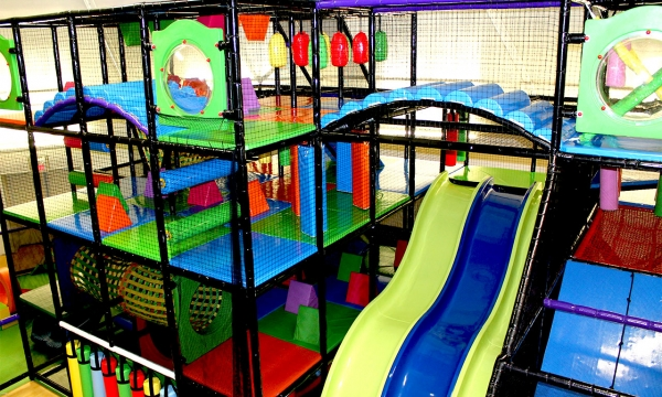 Humongous Indoor Play Structure!