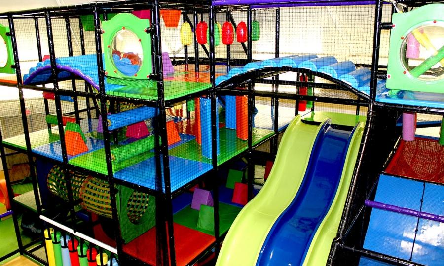 Humungous Indoor Play Structure!